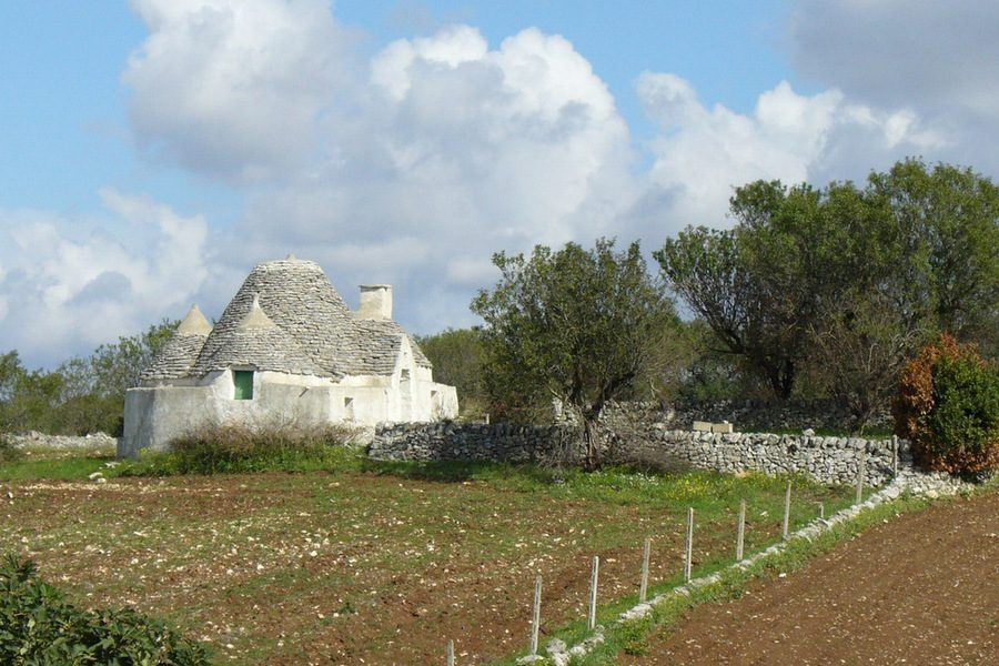 Trulli - on Self-Guided Bike Tours in Puglia