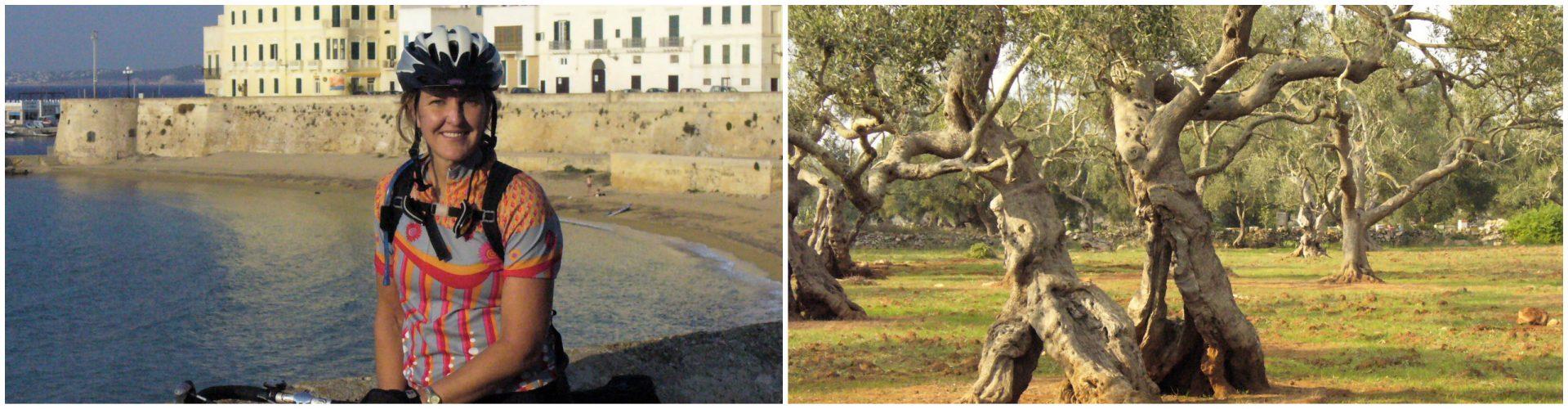 Cycling Puglia - Olive Trees and the Coast
