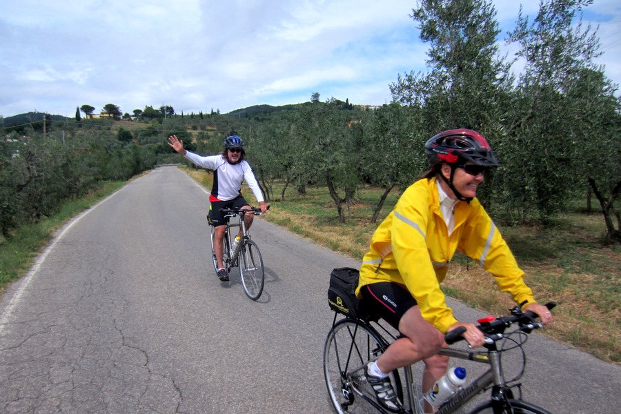 Self-Guided Cycling in Tuscany