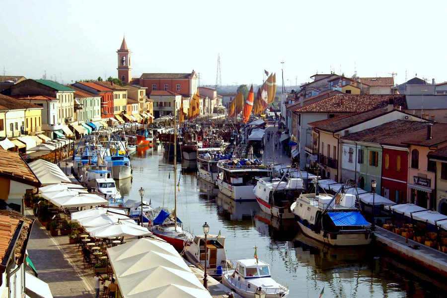 Cycling Adriatic from Cesenatico
